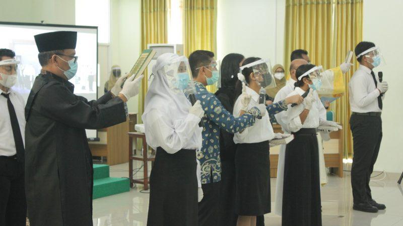 Gizi Unimus Tuan Rumah Sumpah Profesi Nutrisionis 2021