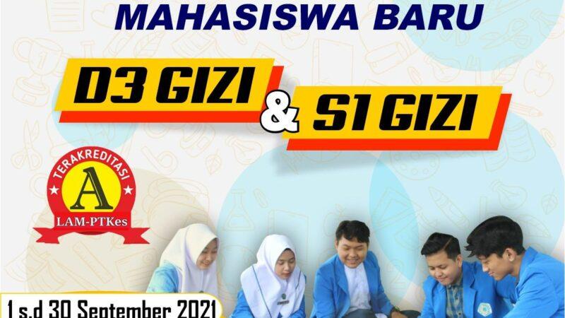 Pendaftaran Mahasiswa Baru Gizi Unimus Sampai Dengan 30 September 2021